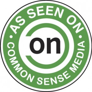 Common Sense Media chooses ZisBoomBah as top-rated learning products.