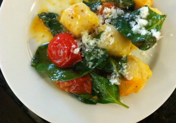 The Kids Cook Monday: Gnocchi with Cherry Tomato Sauce {complete ...