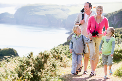 Healthy Lifestyle: 5 secrets to an active, happy family ...