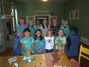 Hollie Hambly's Girl Scout Junior troop, Colorado Springs, Colo.
