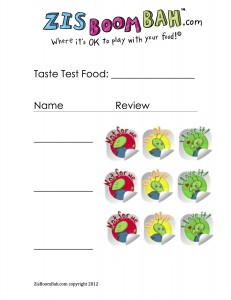 Kids Review Sheet