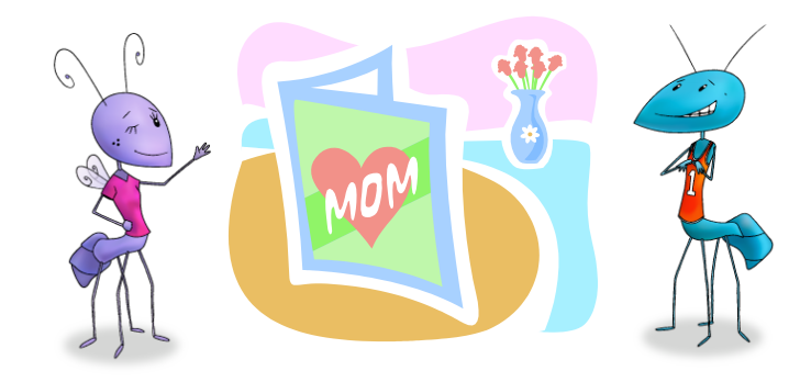 For Mom: Gift Ideas Made By Kids with Love - Mother's Day - ZisBoomBah