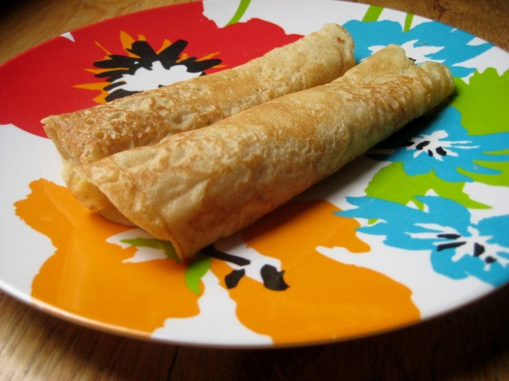 Cooking with Kids: Spinach-Stuffed Whole Wheat Crepes