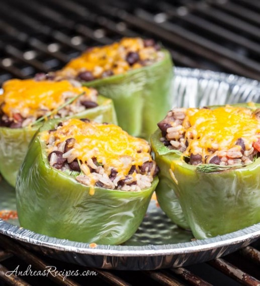 Cooking with Kids: Stuffed Peppers on the Grill