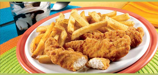Applebee's chicken fingers contain almost an entire day's allowance ...