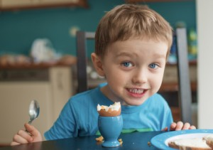 Kids love eggs, an easy, versatile food and a great source for a variety of nutrients.