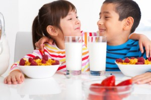 Children who eat a healthy breakfast are more likely to shine in school