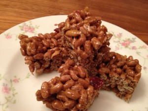 Brown Rice Krispy Treats