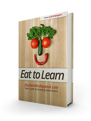 "Jenna's new e-cookbook ""Eat to Learn"""