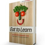 "Jenna's e-book ""Eat to Learn"""