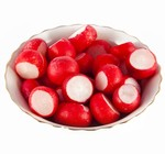 4th of july bbq sides recipes radishes with flavored salts and butter