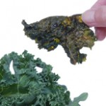 Cheesy Cashew Kale Chips