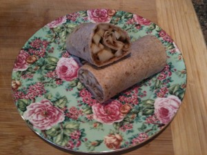 Peanut Butter Apple Wrap